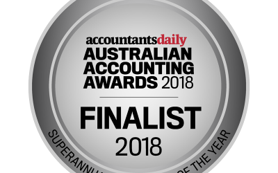Finalist in Accountants Daily Australian Accounting Awards 2018