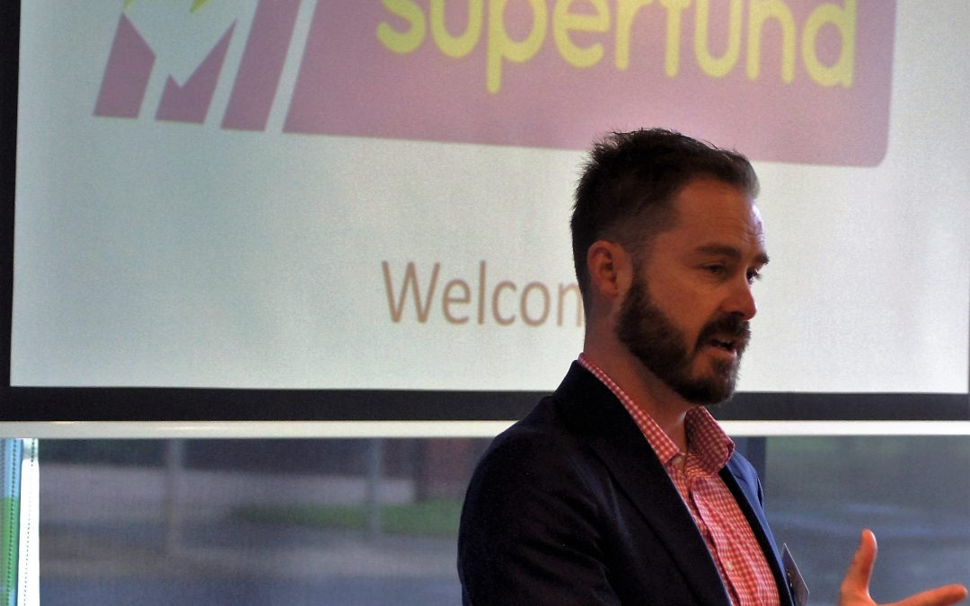 Ben Willington speaks at SMSF Association Meeting